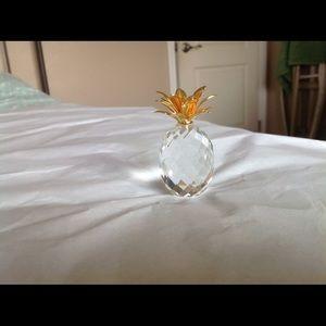 Swarovski pineapple decoration